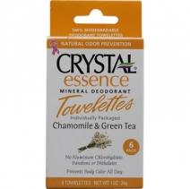 Crystal Essence deodorandilapid, kummel ja roheline tee