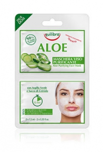 Aloe puhastav mask - Aloe Purifing Face Mask 2 x 7 ml