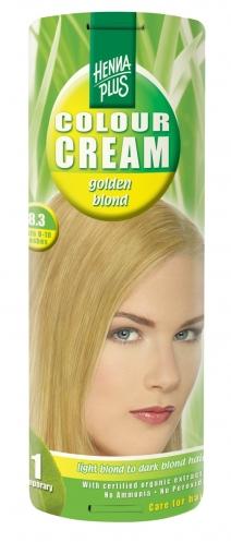 Colour Cream looduslik poolpüsivärv, Kuldblond 8.3