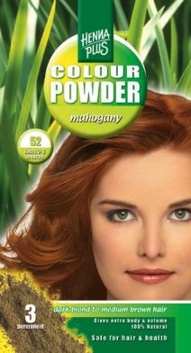 Hennaplus 100% looduslik püsivärvipulber, Mahagon 52