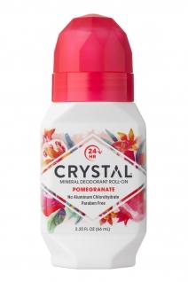 Crystal Essence deodorant, granaatõun, roll-on
