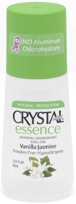 Crystal Essence deodorant, vanilje ja jasmiin, roll-on UUS!
