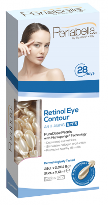 Retinooliga vananemisvastased seerumipärlid silmaümbrusele