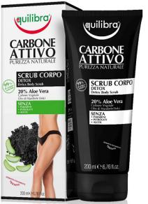 Kehakoorija aktiivsöega Equilbra Carbone Attivo
