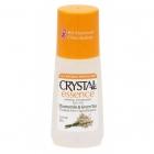Crystal Essence deodorant, kummel ja roheline tee, roll-on